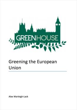 Greening the European Union