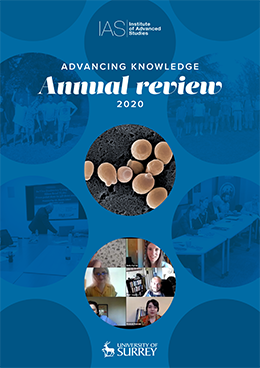 Front cover of Annual Review 2020 Report